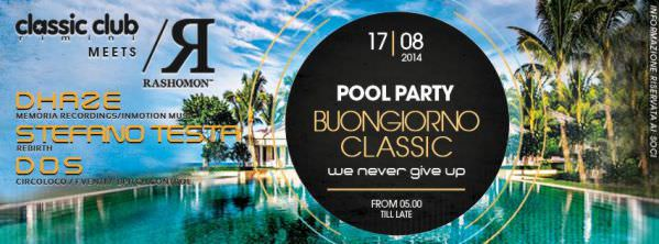 classic club rimini 17 agosto 2014