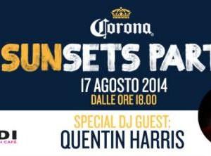 Sunset Party con Quentin Harris al Malindi Cattolica