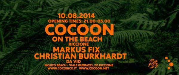 mojito riccione cocoon on the beach 10 agosto 2014