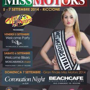 Miss Motors al Beach Cafè Riccione