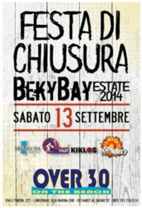 beky bay giovedì 3 agosto 2014