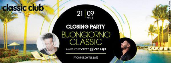 classic club rimini 21 settembre 2014