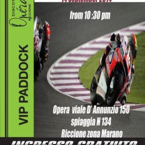 Festa Moto 2 all'Opèra Riccione