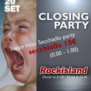 Chiusura estate 2014 Rockisland