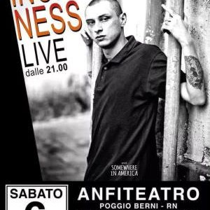 Inoki Ness live all'Anfiteatro di Poggio Berni