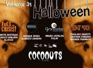 Halloween 2014 al Coconuts Rimini