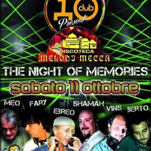The Night of Memories all'Io Club
