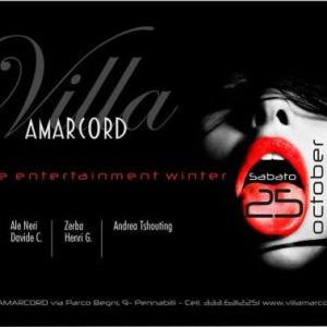 Grande festa di apertura di Villa Amarcord