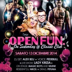 Open Fun sabato al Classic Rimini