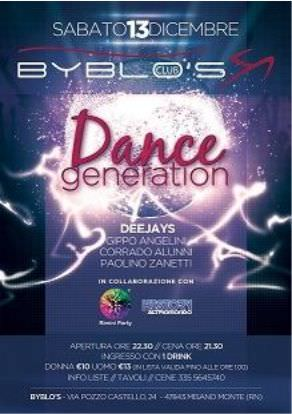 Byblos Riccione presenta Dance Generation