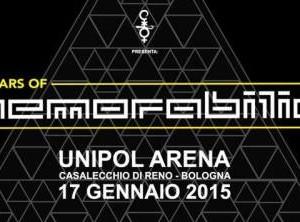 Cocorico e Unipol Arena presentano 20 anni di Memorabilia