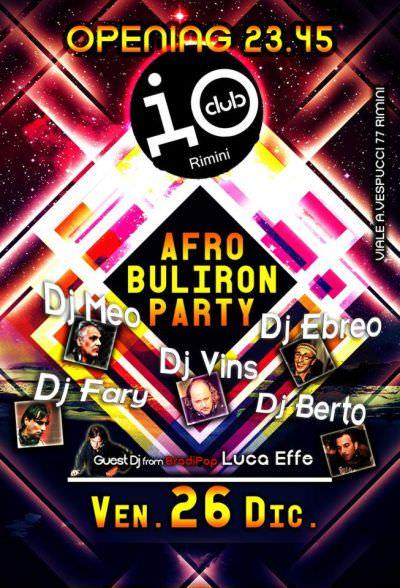 io club Afro Raduno