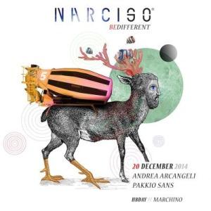 Andrea Arcangeli in console al Narciso Misano