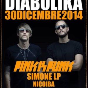 DIABOLIKA Cocorico presenta Pink is Punk al Pascià Riccione