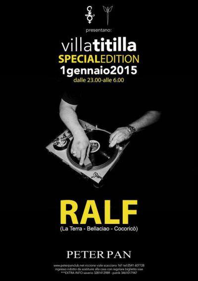 Peter Pan Riccione villatitilla only ralf 2015
