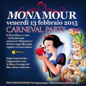 Carnevale al Monamour Rimini