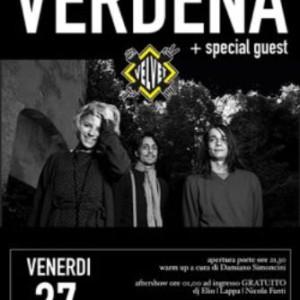 Verdena in concerto Velvet Rimini