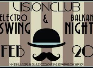 Electro Swing al Vision Club
