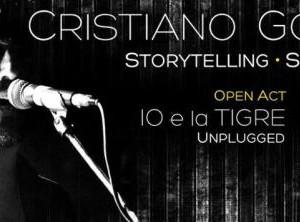 Cristiano Godano in concerto al Bikini Cattolica