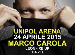 Marco Carola e il Cocorico all'Arena UNIPOL Bologna