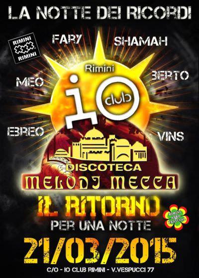 Io Club Rimini novembre