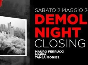 Demolition Night al Peter Pan Riccione