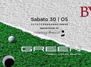 Green Party al Byblos Riccione