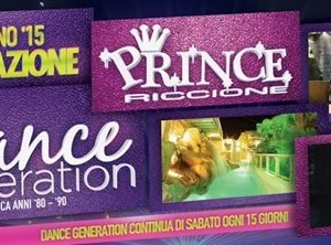 Prince Riccione Presenta Dance Generation