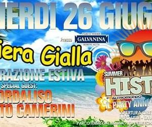 Apertura estiva Bandiera Gialla Rimini