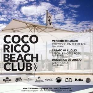 Tre giorni di follia al Cocorico Beach Club