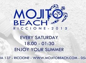 Il nuovo sabato del Mojito Beach Riccione