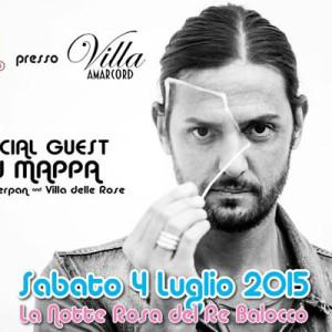 Notte Rosa a Villa Amacord con Dj Mappa