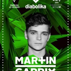 Martin Garrix per il DIABOLIKA Cocorico
