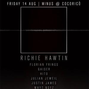 Richie Hawtin al Venerdì di Ferragosto del Cocorico