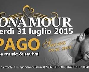 Mon Amour Rimini festeggia i 30 anni con Pago