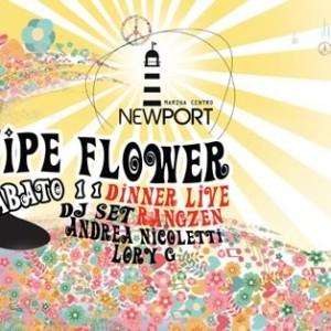 Pipe Flower al New Port Rimini