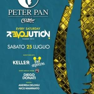 Keller e Em Stokholma al Peter Pan REVOLUTION