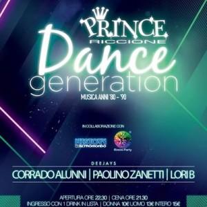 Dance Generation edizione Notte Rosa al Prince Riccione