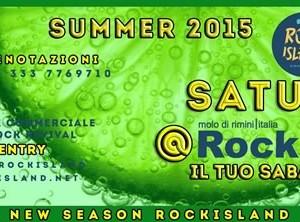 Tutti i sabati concerti Rock al Rockisland