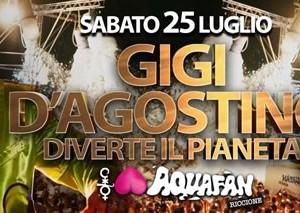 Schiuma Party Aquafan presenta Gigi D'Agostino