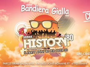 Bandiera Gialla Closing Party