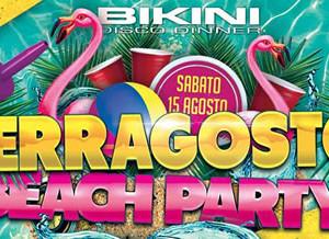 Beach Party al Bikini Cattolica per Ferragosto