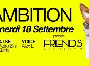 Venerdì Ambition al New Port Rimini