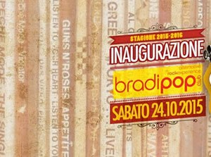 Inaugurazione Bradipop 2015-2016