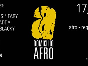 Domicilio AFRO all'Io Club