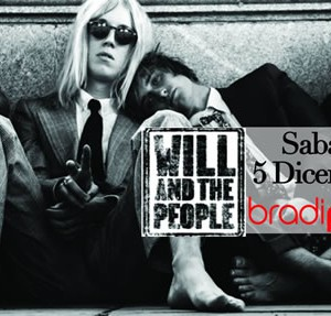 Will and People in concerto live al Bradipop
