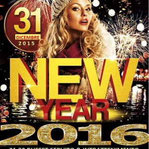 New Year 2016 al Capodanno dell'Io Club Rimini