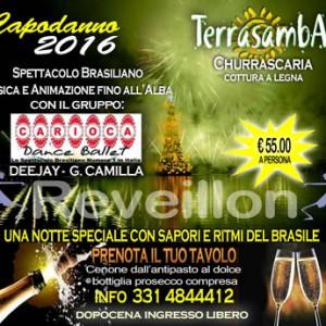 Gran capodanno 2016 latino al Terrasamba