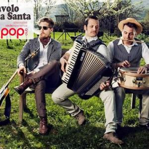 Il trio Diavolo e l'acqua santa in Live al Bradipop Rimini