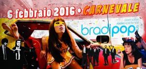 Tarantino Carnival Party al Bradipop Rimini